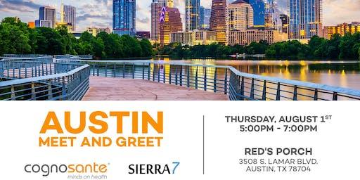 2019 Cognosante/Sierra7 Austin Meet and Greet