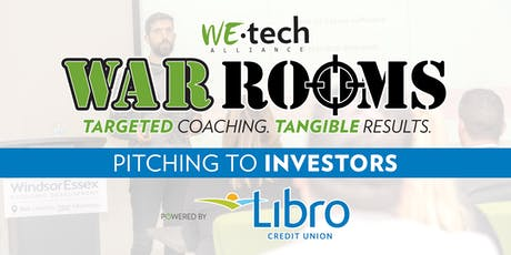 WAR ROOM powered by Libro Credit Union: Pitching to Investors tickets