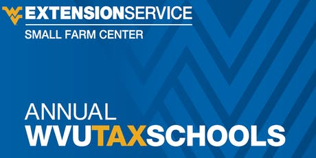 WVU Income Tax School tickets