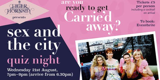 Sex and the City Quiz Night