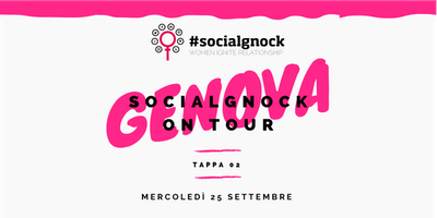 socialgnock On Tour - GENOVA
