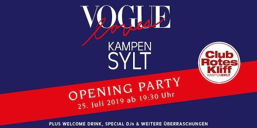 Vogue loves Kampen - 2019 Club Rotes Kliff -