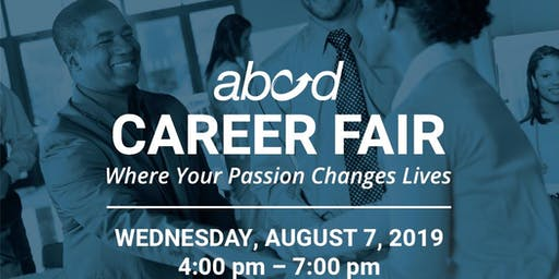 ABCD Career Fair - Where Your Passion Changes Lives