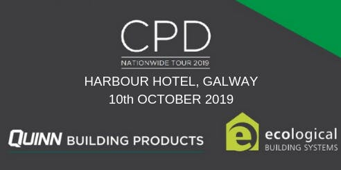 [Galway] Double CPD Seminar: nZEB and Airtightness