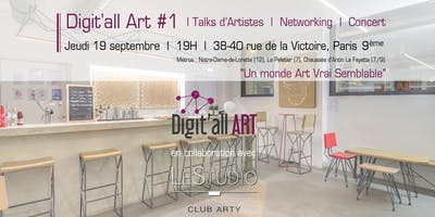 Digit'all ART #1 - Un monde Art Vrai Semblable