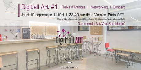 Digit'all ART #1 - Un monde Art Vrai Semblable tickets