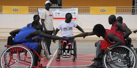 """Film Screening and Discussion - """"No Limits"""" Wheelchair Basketball in South Sudan tickets"""