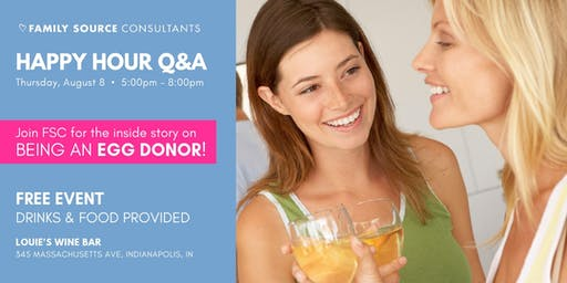 Ladies' Night at Louie's - Happy Hour Q&A on Egg Donation