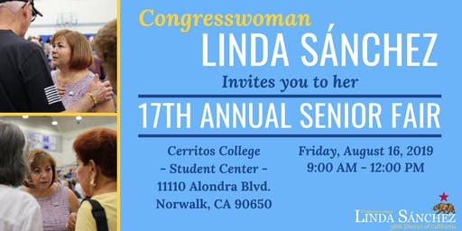 Congresswoman Sanchez's 17th Annual Senior Fair