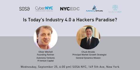 Is Today's Industry 4.0 a Hackers Paradise? tickets