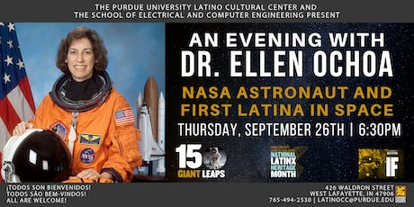 An Evening with Dr. Ellen Ochoa: NASA Astronaut and First Latina in Space tickets