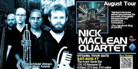 NICK MACLEAN QUARTET feat. BROWNMAN ALI (Ottawa) tickets