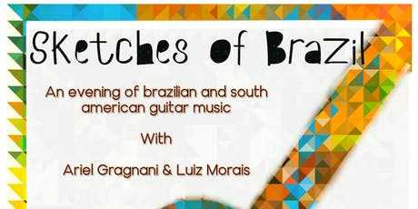 Sketches of Brazil tickets