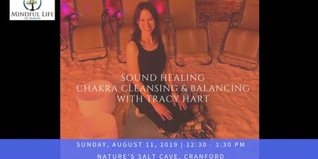 Crystal Bowl Chakra Cleanse Sound Healing with Tracy Hart in Salt Room tickets