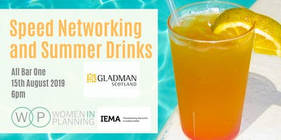 Women in Planning Glasgow Speed Networking and Summer Drinks