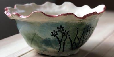Ceramic AND Painting : atelier de modelage et de peinture sur céramique