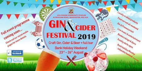 August Bank Holiday Gin & Cider Festival tickets
