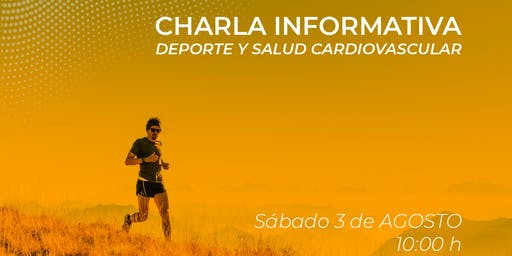 Charla Informativa Deporte y Salud Cardiovascular