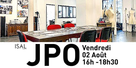 JPO AOÛT 2019 ISAL PARIS tickets