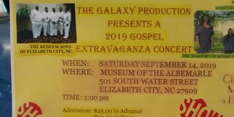The Galaxy Production Gospel Concert tickets