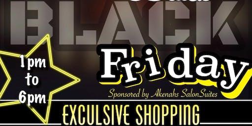Black BLACK Friday Pop up SHOP