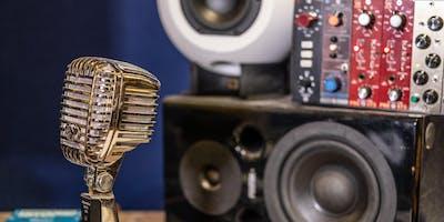 Recording Session At Blue Room Studios