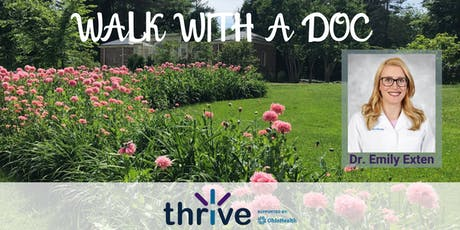 Walk with a Doc - Dr. Emily Exten tickets