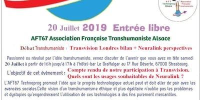 Découvrez l'Association Française Transhumaniste en débattant avec des tran