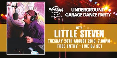 LITTLE STEVEN'S UNDERGROUND GARAGE DANCE PARTY tickets