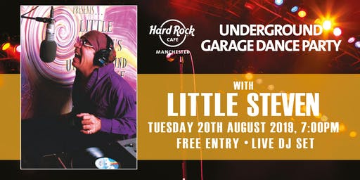 LITTLE STEVEN'S UNDERGROUND GARAGE DANCE PARTY