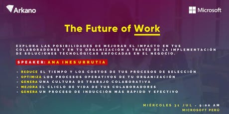 The Future of Work entradas