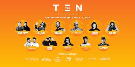 Exodus Festival Las Vegas / Season 10 - Labor Day Wknd tickets