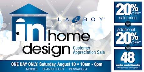 La-Z-Boy Gulf Coast In-Home Design Event tickets