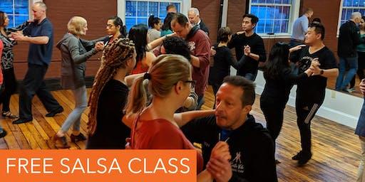 FREE Salsa Class!