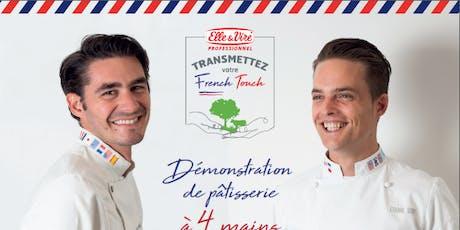 Démonstration de pâtisserie par Etienne Leroy et Jérôme De Oliveira tickets