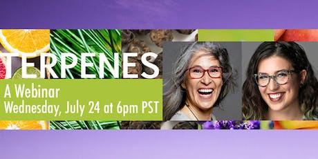 Ellementa Presents: Terpenes Webinar with Aliza Sherman and Emma Chasen tickets