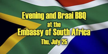 Evening at the Embassy of South Africa tickets
