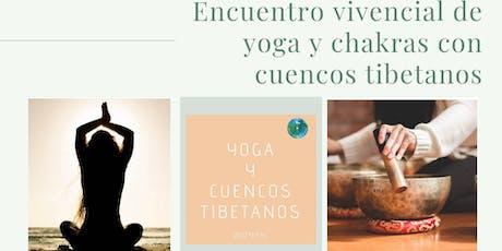 Encuentro vivencial de yoga y chakras con cuencos tibetanos entradas
