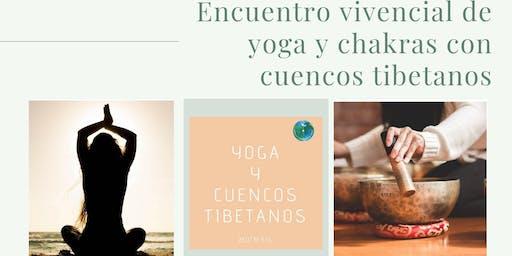 Encuentro vivencial de yoga y chakras con cuencos tibetanos