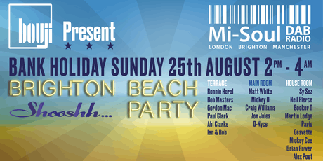 Brighton Beach Alldayer tickets