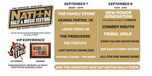 The Official Who Dat Nation Rally & Music Festival