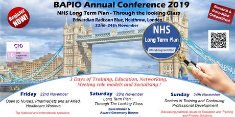 BAPIO Annual Conference 2019 tickets