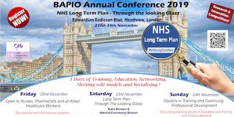 BAPIO Annual Conference 2019 tickets
