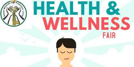 Health and Wellness Fair tickets