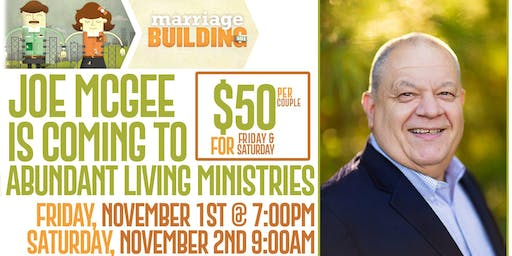 Joe McGee Marriage Conference