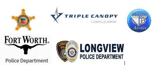 Triple Canopy Constellis,US Secret Service, Vinnell,Ft. Worth Pd,LongviewPD