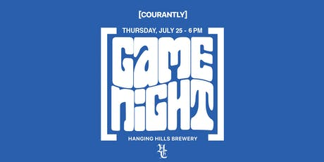Courantly Game Night tickets