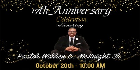 Pastor's 17th Anniversary POP Up Event Brunch tickets