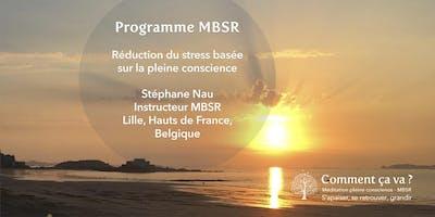 """Réunion d'information gratuite MBSR """"réduction du stress basée sur la pleine conscience"""""""