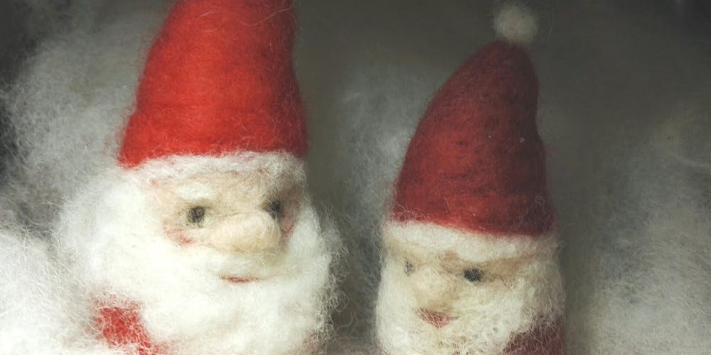 Needle Felting Christmas Decorations For Families With Laryna Wuppermann